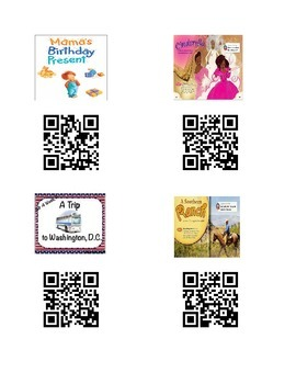 QR Codes for Reading Street Selection Stories Unit 4