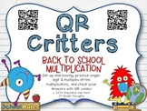 QR Critters: Multiplication {Back to School}
