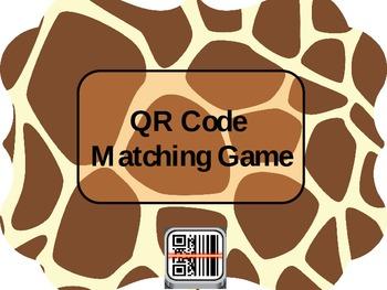 QR Matching Game Template