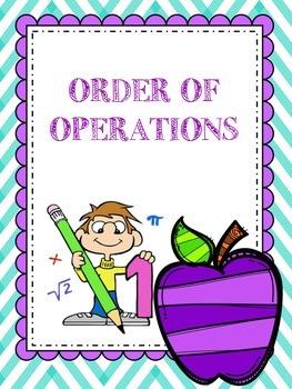 QR Order of Operations