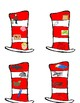 Dr. Seuss Hat; Rhyming-CVC's with QR Codes