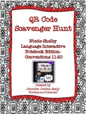 QR Scavenger Hunt for 3rd Grade Language Interactive Noteb
