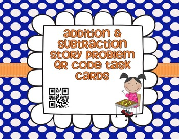 QR Task Cards for Story Problems