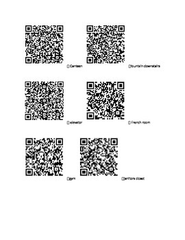 QR code hunt- Social Studies Review for Canada's Physical