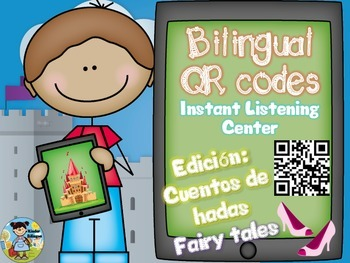 QR codes *Bilingual Version*plus comprehension questions (