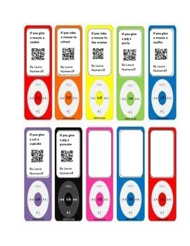 QR codes for Laura Numeroff Books