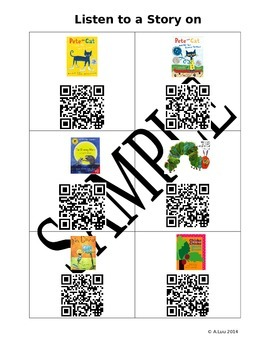 QR codes for the Listening Center