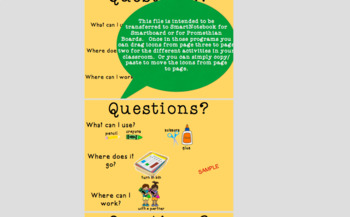 QUESTIONS? Board for classroom management