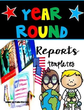 Reports/ Writing Templates / Social Studies/ Science/ Lang