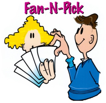 Quadrangle Fan&Pick Activity (from Kagan activities)