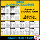 Graphing Quadratic Equation Review Jumbo Cards