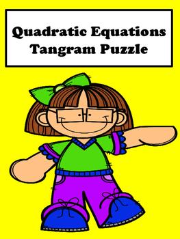 Quadratic Equations Tangram