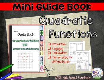 Quadratic Functions: Mini Guide Book