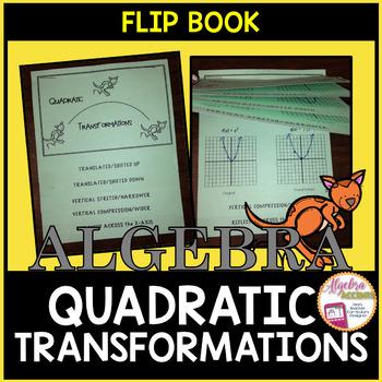 Quadratic Functions: Transformations Flippable