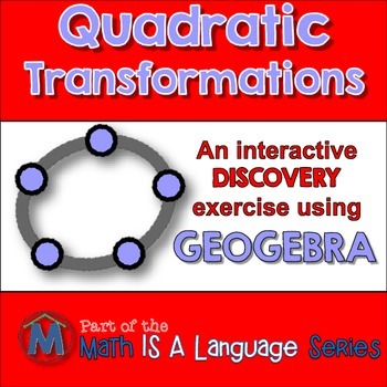 Quadratic Translations - interactive discovery exercise -