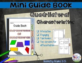 Quadrilateral Characteristics: Mini Guide Book