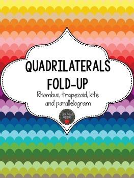 Quadrilateral Fold-up (rhombus, trapezoid, parallelogram, kite)