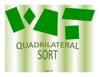 Quadrilateral attribute sort