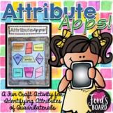 Quadrilaterals Activity - Attribute Apps