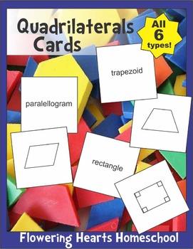 Quadrilaterals Cards