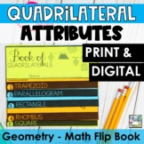 Quadrilaterals Flip Book