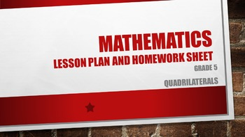 Quadrilaterals Grade 5
