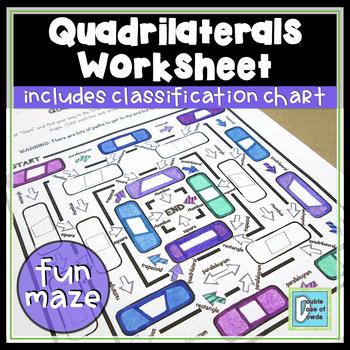 Quadrilaterals Maze