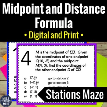 Midpoint-Distance-Formula-Activity