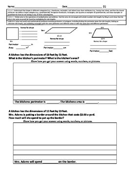 Quadrilaterals and Geometry Problem Solving Free Sample Pe
