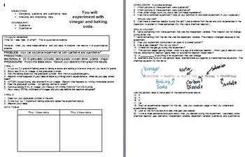 Qualitative vs. Quantitative Lab Experiment and Comp Noteb
