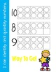 Quantifying Numbers- Ten Frames for # 0-10