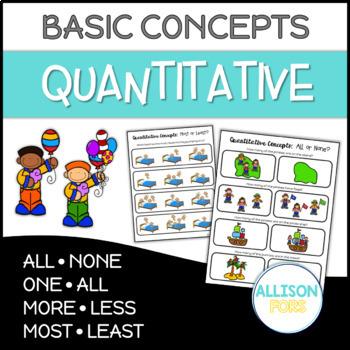 Quantitative Concepts Pages NO PREP