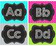 Quatrefoil Alphabet Word Wall Headers