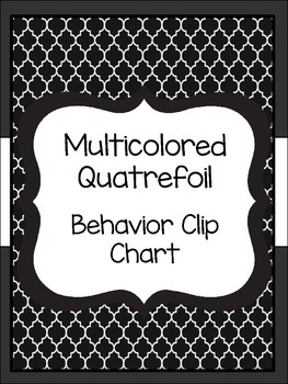Quatrefoil Behavior Clip Chart