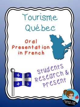 Québec Tourism Project in French
