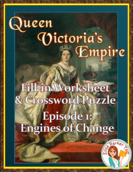 Queen Victoria's Empire Worksheet and Puzzle -- Episode 1: