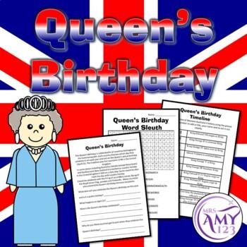 Queen's Birthday Activities