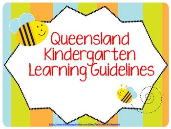 Queensland Kindergarten Learning Guidelines Posters