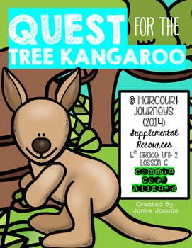 Quest for the Tree Kangaroo (Journeys 5th Gr. - Supplement