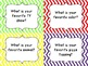 Question Cards for Conversation Starters