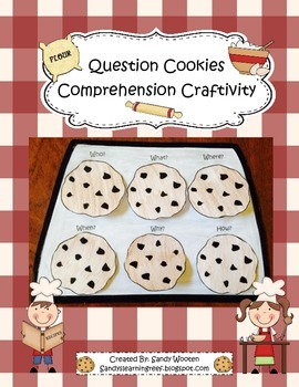 Question Cookies Reading Comprehension Craftivity