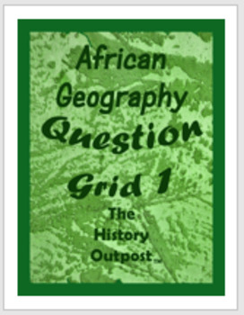 Question Grid - Africa  - Geography #1