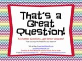 Question Ring Freebie