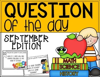 Question of the Day:  September Edition