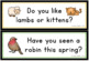 Spring: Question of the Day