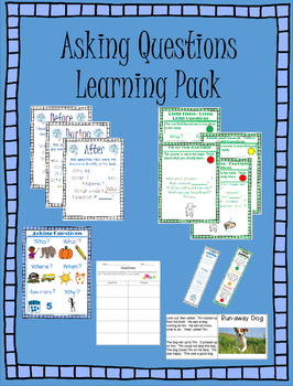 Asking Questions Learning Pack