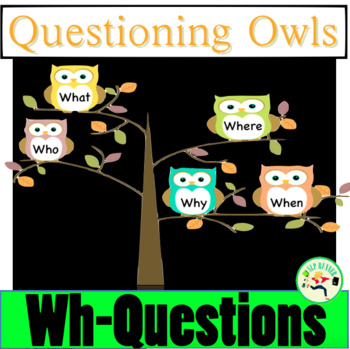 """wh"" questions who, what, when, where, why?"