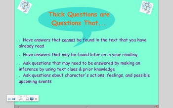 Questioning (inferential questions)