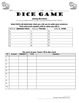Questions Practice in French with Est-ce que, Dice Game