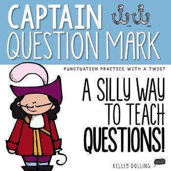 Punctuation - Captain Question Mark